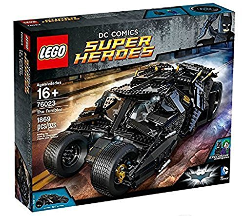 Lego DC Comics Superheroes Batman The Tumbler The Dark Night Trilogy Incluye 2 minifiguras: Batman y The Joker