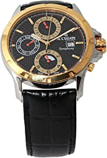Casual Watch for Men by Accurate, Multi Color, Round, AMQ1752RGTL