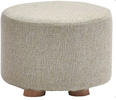 Peachy Amazon Com Grjxmd Round 4 Legs Dressing Table Stool Ottoman Forskolin Free Trial Chair Design Images Forskolin Free Trialorg
