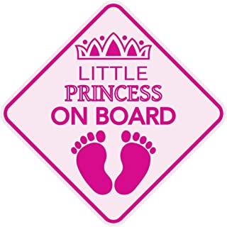 Little Princess ON Board Magnet Baby Car Sign