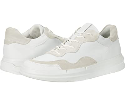 ECCO Soft X Sneaker (White/Shadow White) Women