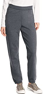 Hanes Women's Midrise Cinch-Bottom Fleece Sweatpant