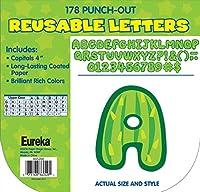 Eureka サボテンテーマ パンチアウト文字 教室装飾用 178個 高さ4インチ
