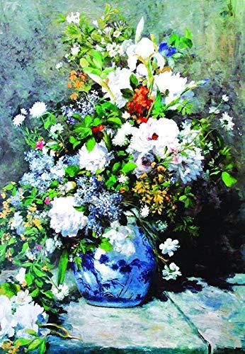 XiuTaiLtd Spring Bouquet 1000 Piece Jigsaw Puzzle,75X50Cm, for Friends