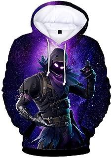 Unisex Kids 3D Printed Hoodies Sweatshirt with Pockets