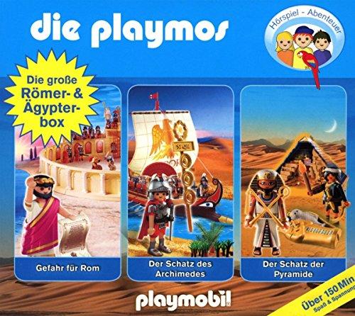 Die Playmos - Die große Römer- & Ägypterbox (Original Playmobil Hörspiele)
