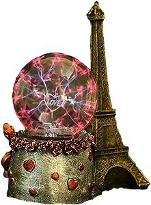 Bola De Plasma Luz Electrostática Glow Torre Eiffel, Bola Mágica para Los Regalos De Navidad De Cumpleaños para Niños