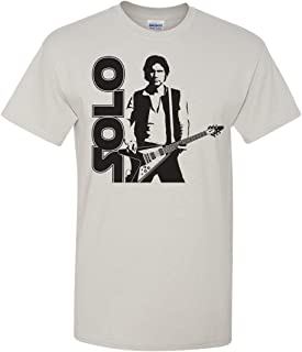 han solo guitar shirt
