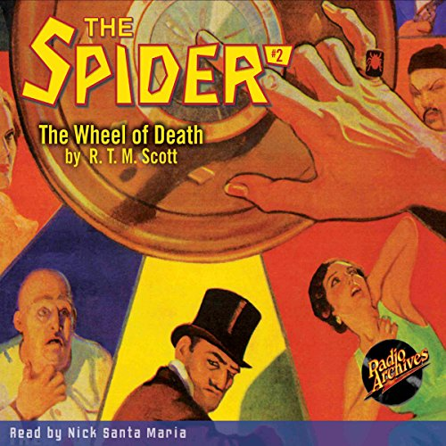 The Spider #2: The Wheel of Death audiobook cover art