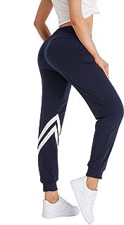Jimdella Womens Sweatpants Running Jogger Lounge Workout Lightweight Legging Sweat Pants Pockets