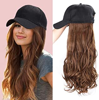 Best hat with fake hair Reviews