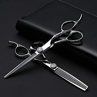"""Hair Scissors Professional, Barber Scissors 6"""", Hairdressing Scissors Set for thinning and Shaping/Durable Stainless Stee..."""