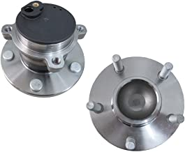 DRIVESTAR pair 512347 2Rear Driver and Passenger Side wheel hub & Bearing w/ABS for Mazda 3 5