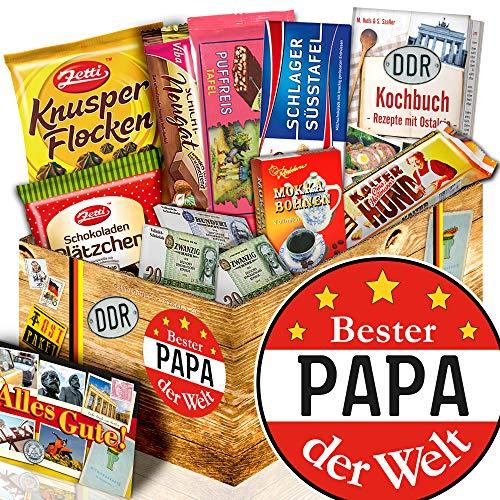 Bester Papa der Welt / Schoko Geschenkbox DDR / Geschenk für Geburtstag
