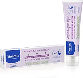 Mustela 1 2 3 Vitamin Barrier Cream, 50ml