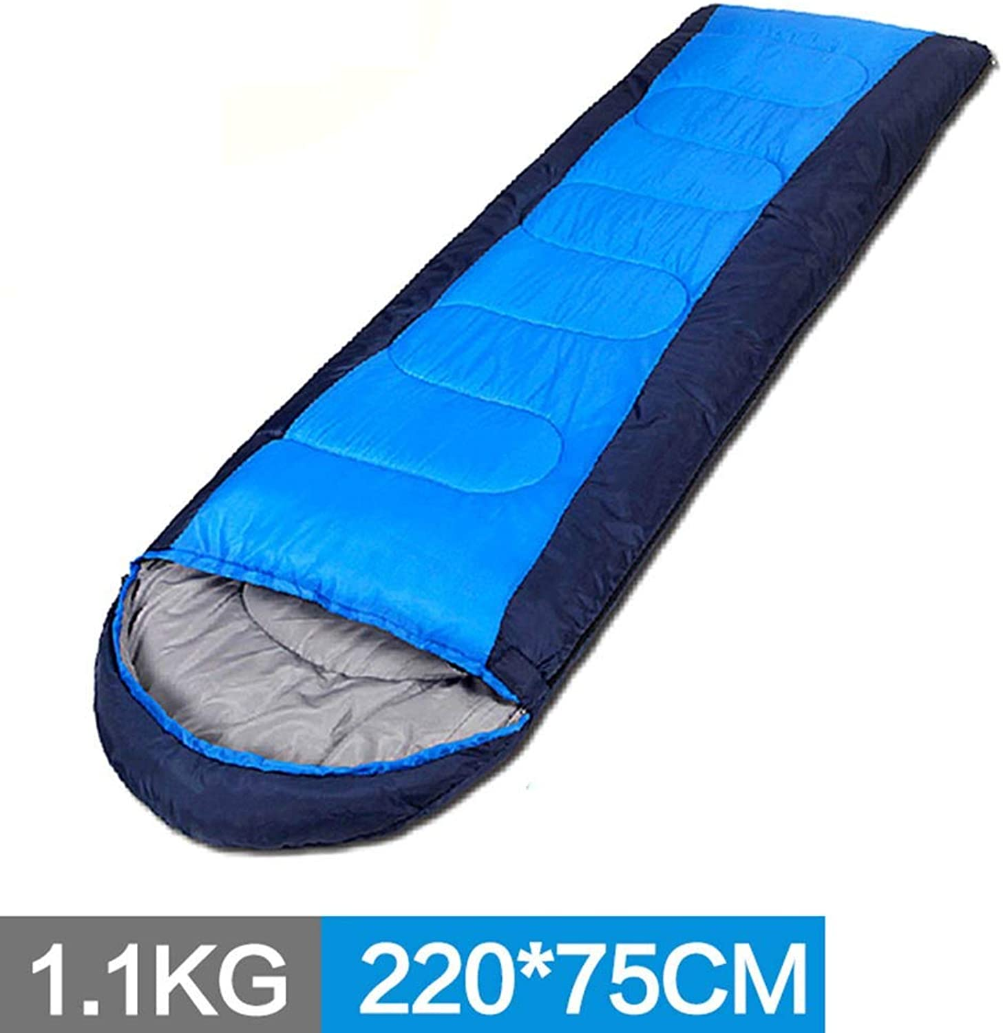 Sleeping Bag, Spring and Summer Four Seasons Keep Warm Outdoor Indoor Camping Travel Adult Easy to Carry (color   1.1kg)