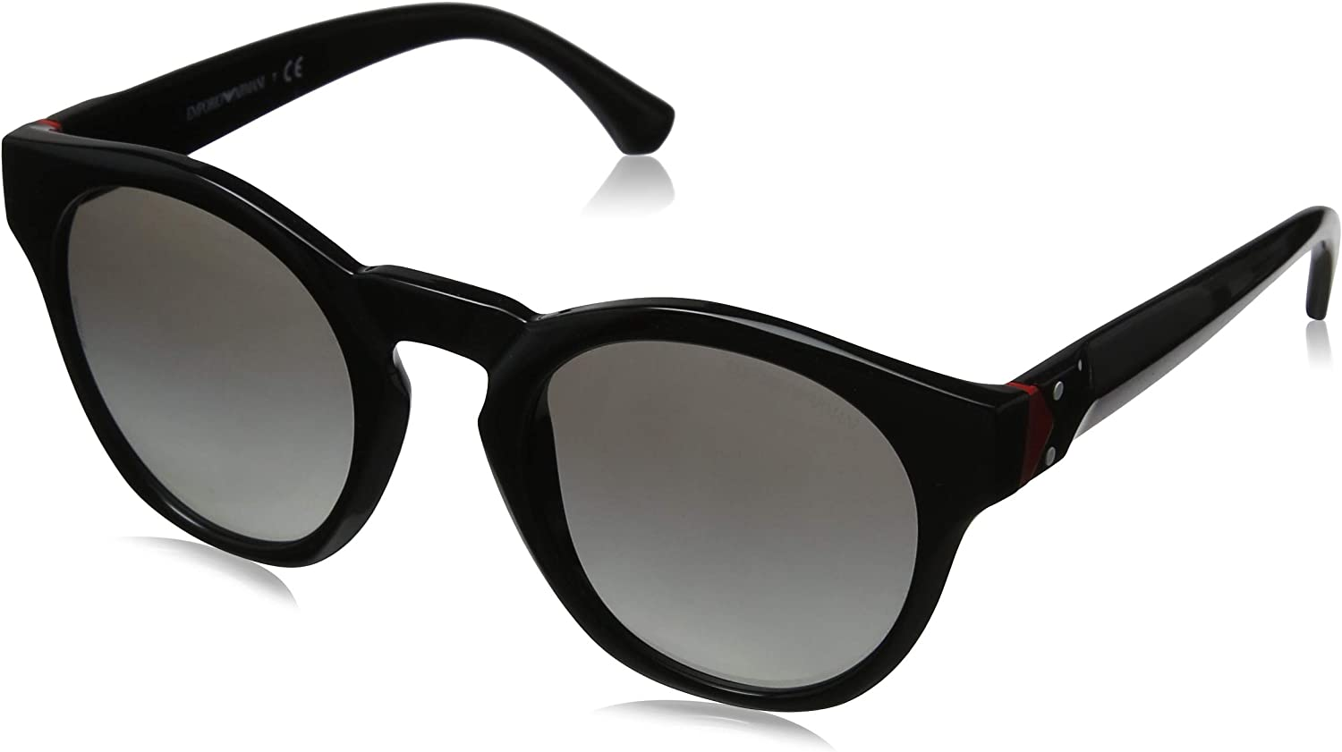 Emporio Armani EA4113 501711 Black Round Sunglasses for
