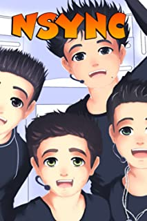 NSYNC Notebook: Cute College Wide Ruled Journal Notebook for School Students, Teen Boys and Girls, Kids, Women for Creativ...