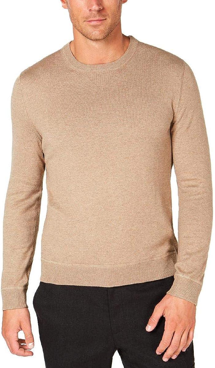Tasso Elba Mens Lux Crew Neck Pullover Sweater