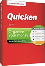 $28 » Quicken Starter 2018 Release – 24-Month Personal Finance & Budgeting Membership