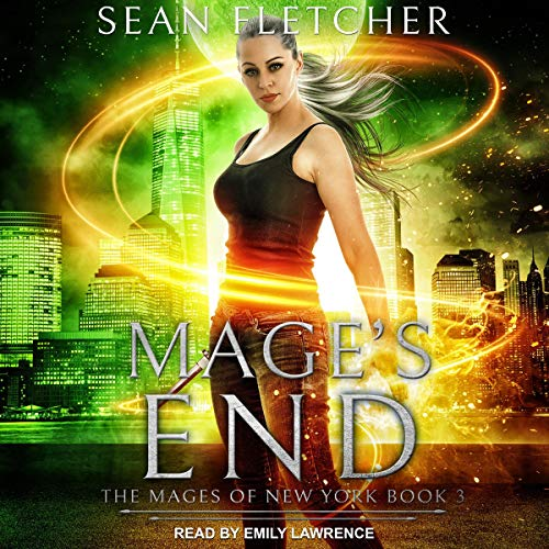 Mage's End audiobook cover art