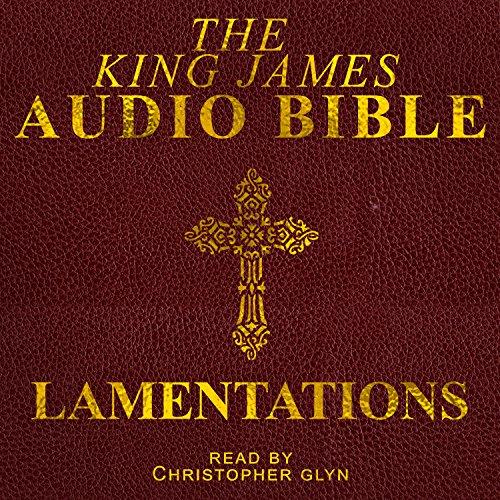 Lamentations audiobook cover art