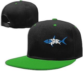 Scotland Flag Shark Letter Men Women Adjustable Flat Bill Baseball Cap Trucker Cap Hat