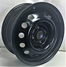 New 14 Inch 4 Lug Black Steel Wheel Fits Chevy Aveo WE6856N