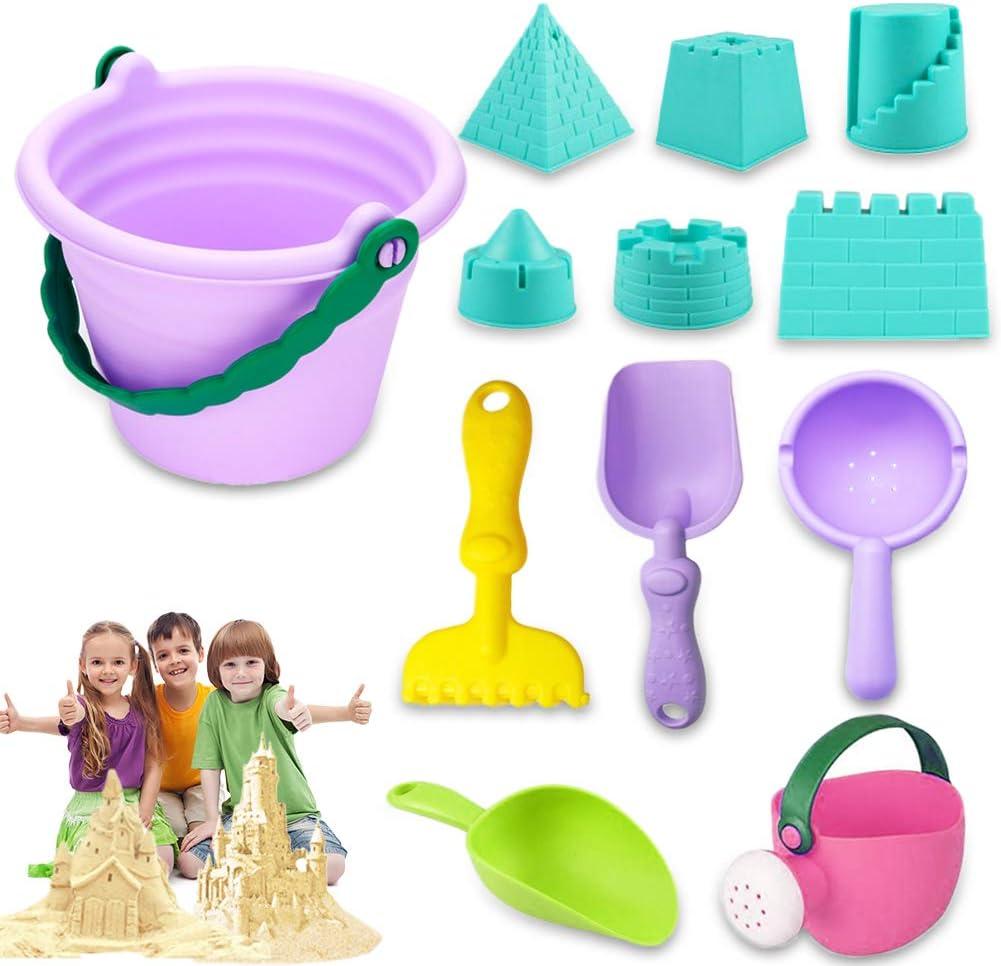 Popular product Anyumocz 12 Pcs Beach Sand Toys for Play Set Ba Max 53% OFF Castle
