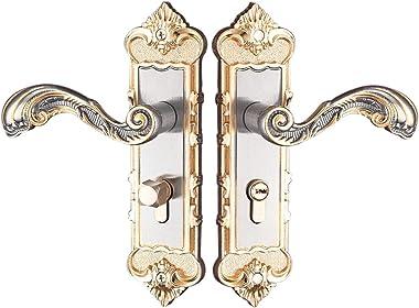 Serenable Room Door Handle - Lever Lock, Latch, Privacy Or Bathroom Scroll #6