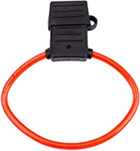 Gesh 8 AWG Gauge Maxi Blade Zekeringhouder Inline Draad 12-24V Volt Waterdicht + 40A Zekering