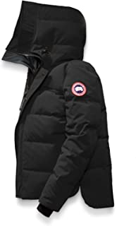 [カナダグース] CANADA GOOSE Men`s Macmillan Slim Fit Down Jacket メンズパーカー [Black] [並行輸入品]