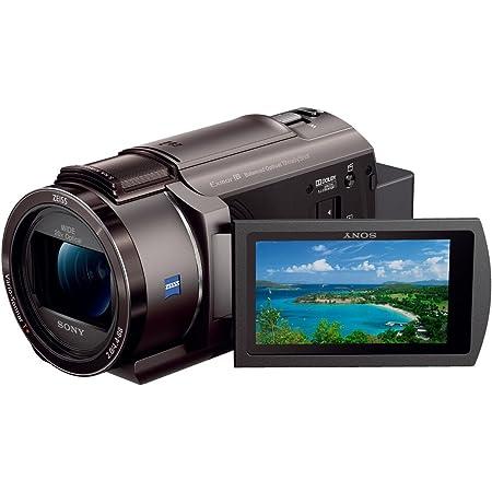 ソニー ビデオカメラ FDR-AX45 4K 64GB 光学20倍 ブロンズブラウン Handycam FDR-AX45 TI