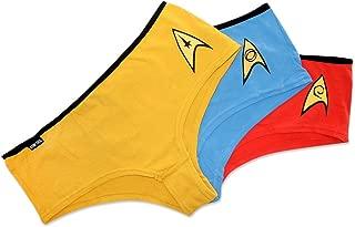 X-Large Star Trek TNG Adult Repeat Pattern Boxer Shorts Set of 3