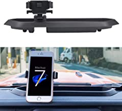 BORDAN Car Dash Phone Holder Jeep JL Dash Tray Mount Phone Holder 360 Degree Rotate with Storage Box Portable Mount Stand Kit Fit for Jeep Wrangler JL 2018