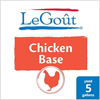 LeGout Chicken Stock Base Gluten Free, 1 lb, Pack of 12
