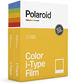 Polaroid 6009 Sofortbildfilm för I-Type, 2 x 16 St, Vit