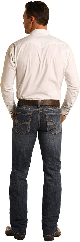 Rock and Super special price Roll Denim Men's Reflex Jeans Straight Leg Free shipping New Da Revolver