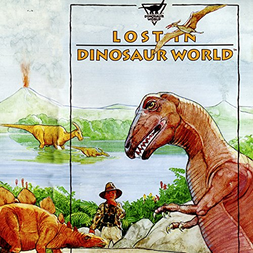 Lost in Dinosaur World audiobook cover art