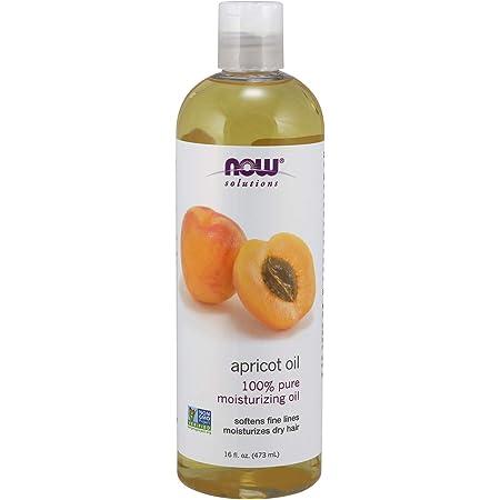 NOW Solutions, Apricot Kernel Oil, Hair Moisturizer, Rejuventaing Skin Oil, Softens Fine Lines, 16-Ounce