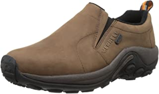 Merrell Mens Jungle Moc Nubuck Waterproof Slip-On Shoe