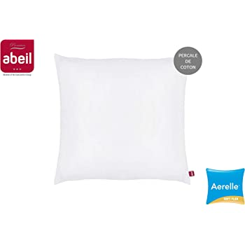 Abeil Premium Oreiller Aerelle Soft Flex Percale de Coton 45 x 70 cm