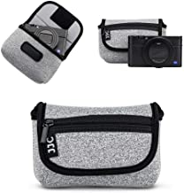 JJC Compact Camera Case Travel Pouch Sleeve for Sony ZV-1 ZV1 RX100 VII VI VA IV III II W800 W830 WX350 Canon G7X G5X G9X ...