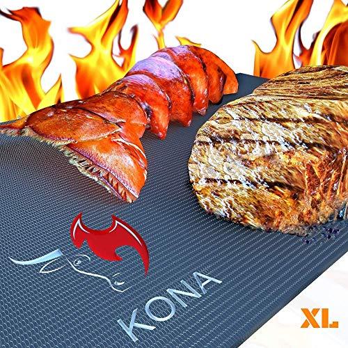 Kona XL Best Grill Mat - BBQ Grill Mat Covers...