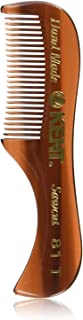Kent A 81T Handmade Pocket Comb for Beard and Mustache - Fine Saw-Cut Teeth, Extra Small (70mm / 2.8
