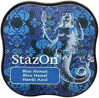 Tsukineko StazOn Midi Ink Pad, Blue Hawaii by Tsukineko