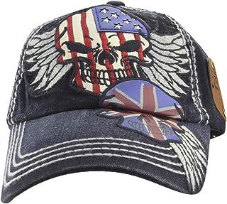 MINAKOLIFE Rock Shark Kingston 1969 Jamaica Distressed Vintage Baseball Cap Hat