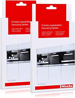Miele 10178330 Descaling Tablets, 6 Tablets (Pack of 2)