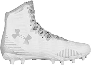 Under Armour Highlight MC Womens Lacrosse Cleats - White/Silver