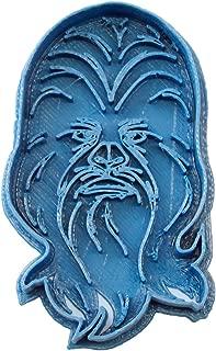 Cuticuter Star Wars Chewbacca Cookie Cutter, Blue